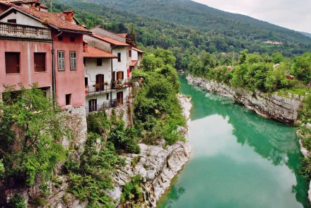 Slowenien - am Fluss Soca