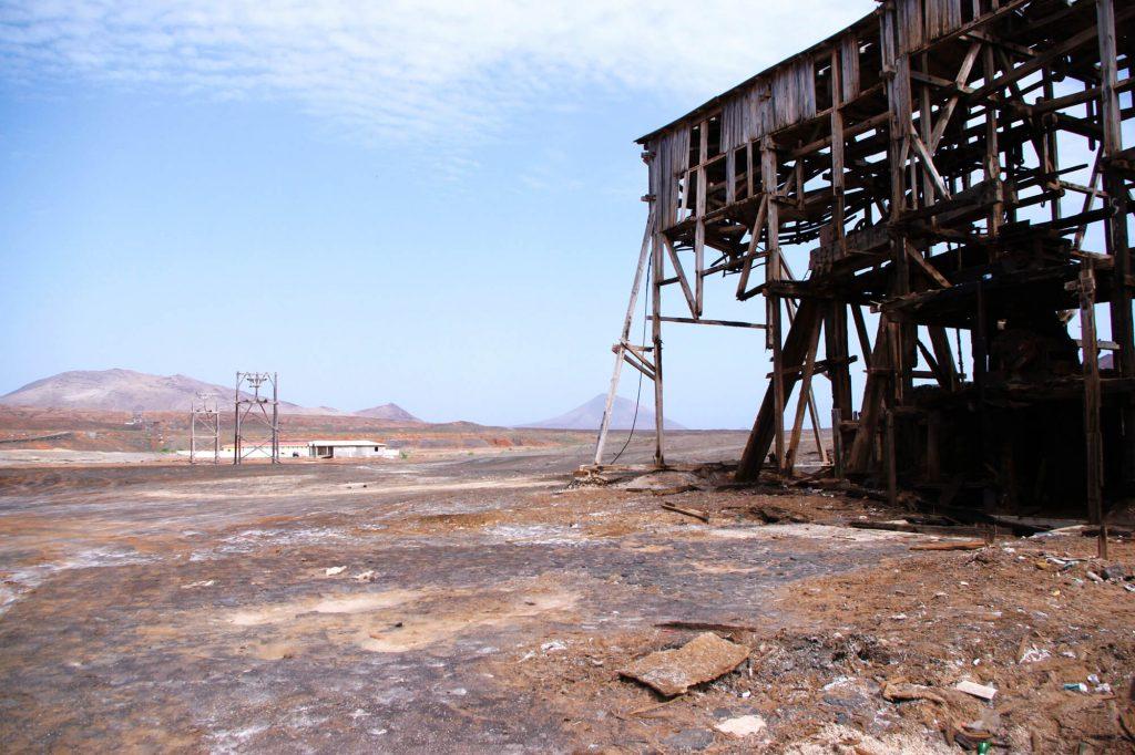 Kapverden: Salinen bei Pedra Lume auf der Insel Sal
