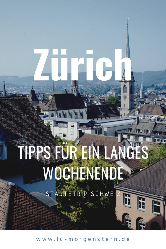 Zürich Tipps Lu Morgenstern
