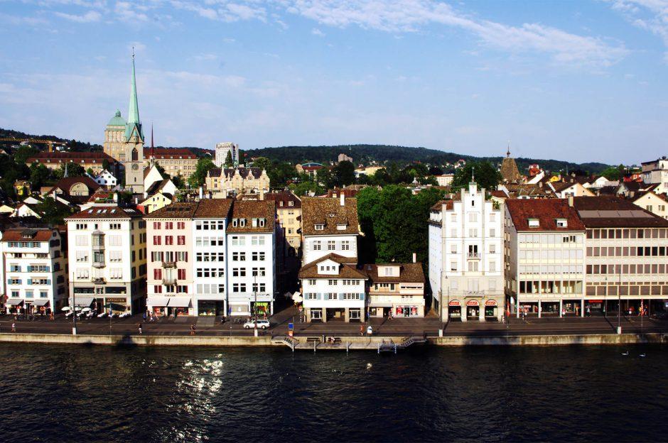 Zürich - Blick vom Lindenhof