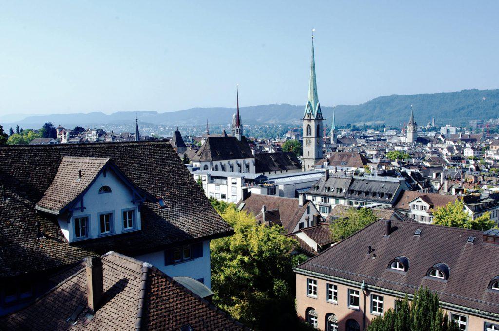 Zürich Tipps Blick auf die Altstadt