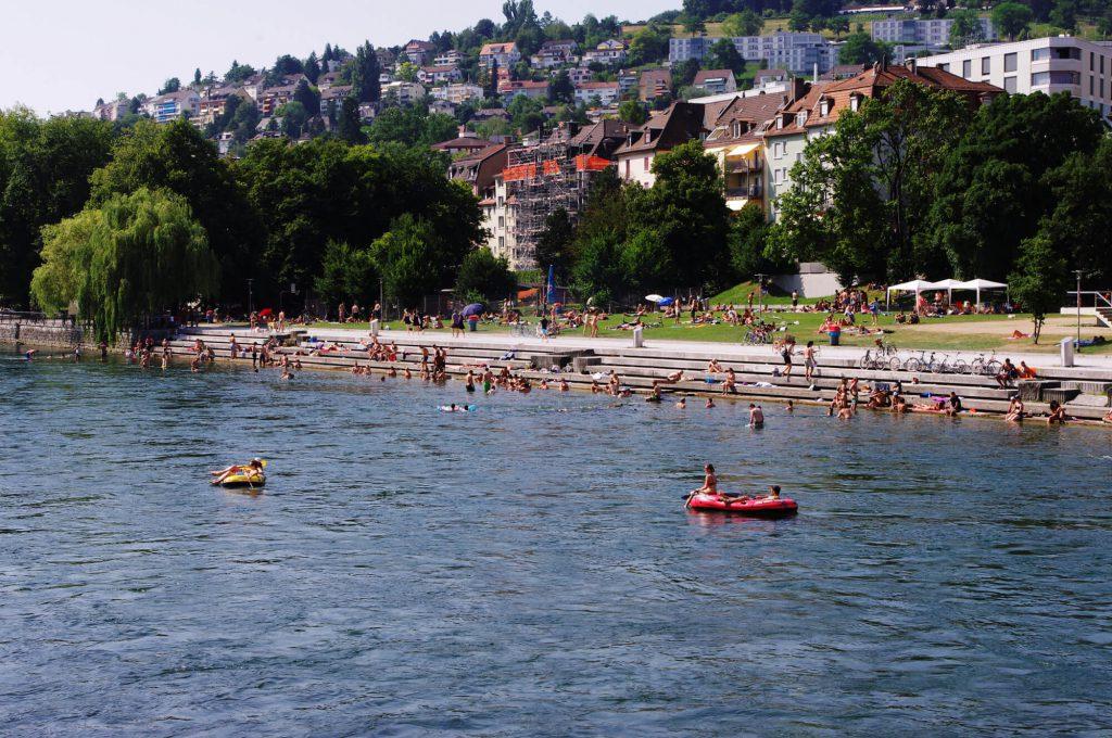 Zürich-West - Limmat - Wipkinger Park