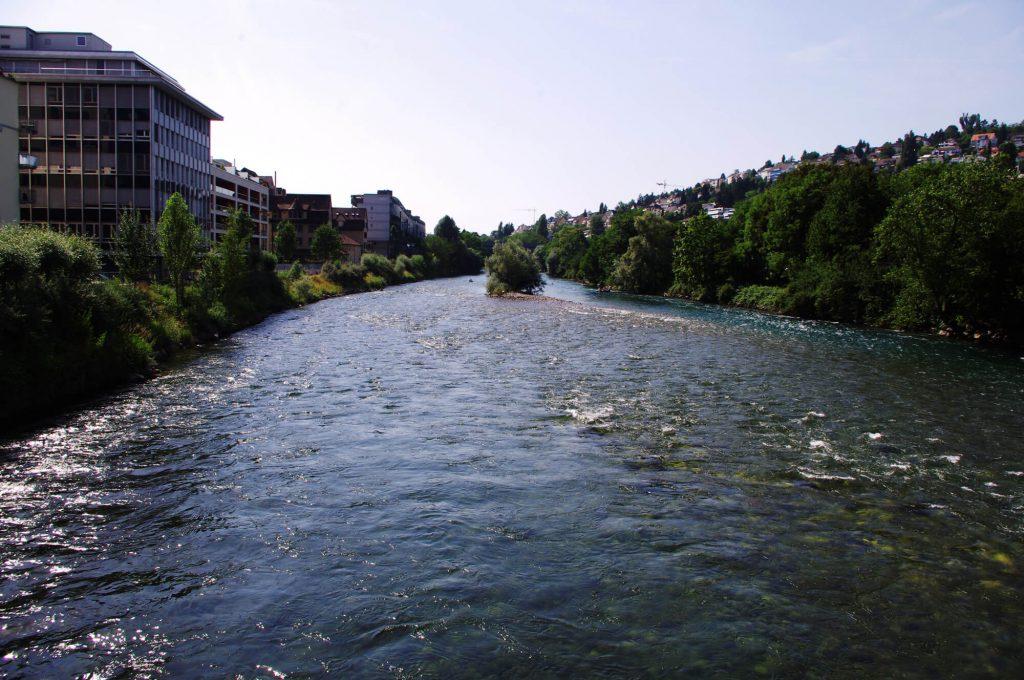 Zürich-West - Limmat
