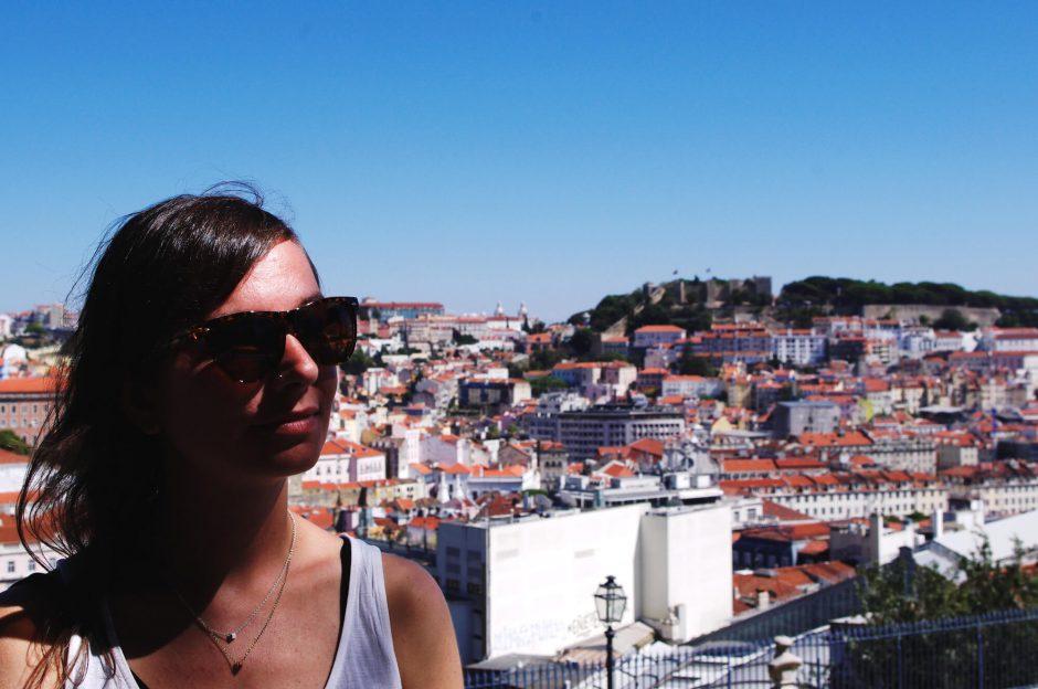 Lissabon - Aussichtspunkt Miradouro São Pedro de Alcântara