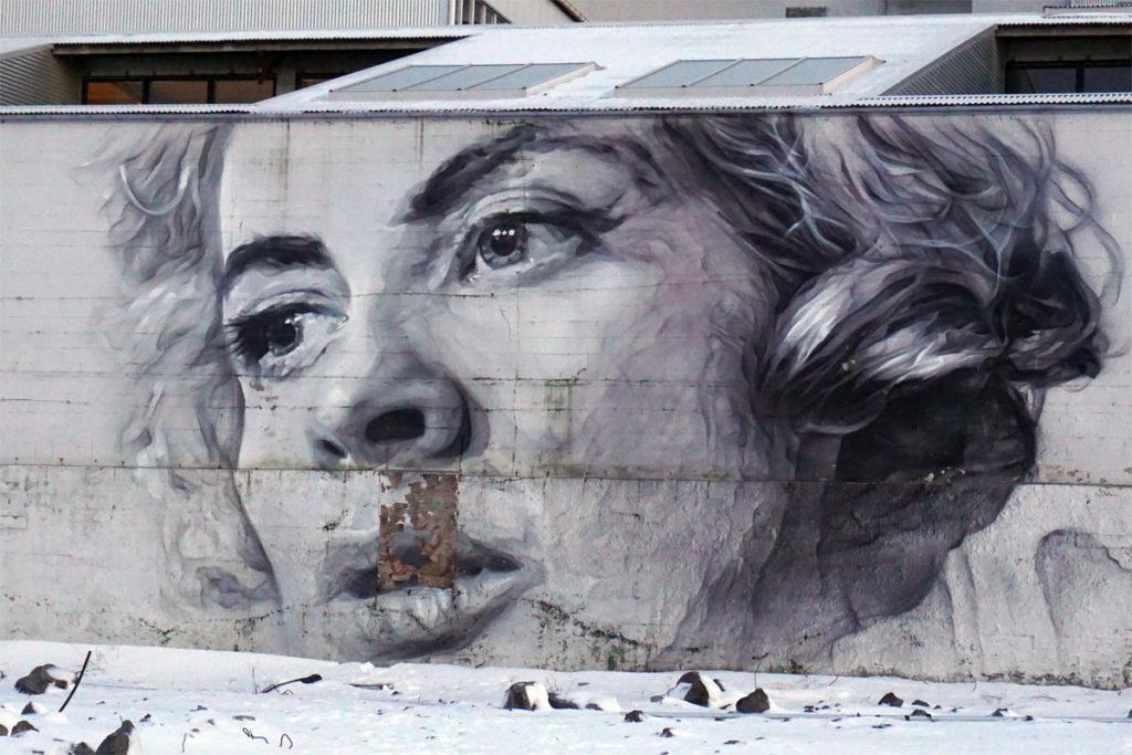 Street-Art in Reykjavik | © Anett Ring Das Foto ist urheberrechtlich geschützt. Downloads sind weder für den privaten, noch für den gewerblichen Zweck gestattet. Der dazugehörige Blogbeitrag kann auf http://www.stadtsatz.de/street-art-in-reykjavik/ gelesen werden.