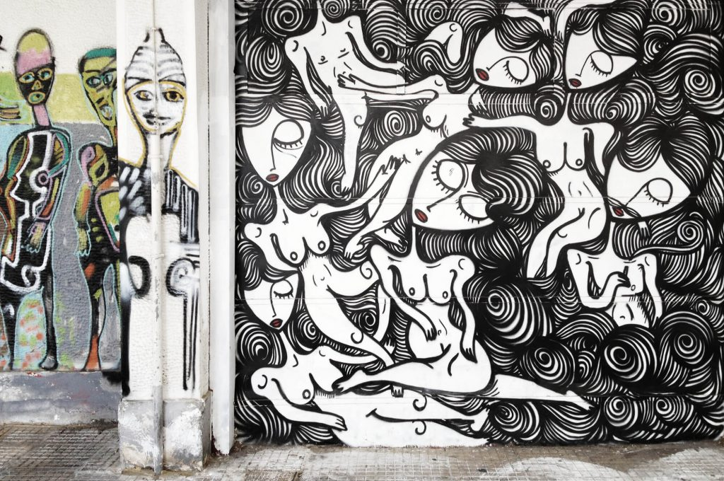 Street-Art in Athen | © Susi Maier, www.blackdotswhitespots.com