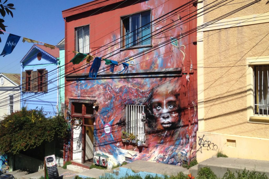 Street-Art in Valparaiso | © Johanna, blog.workntravel.info