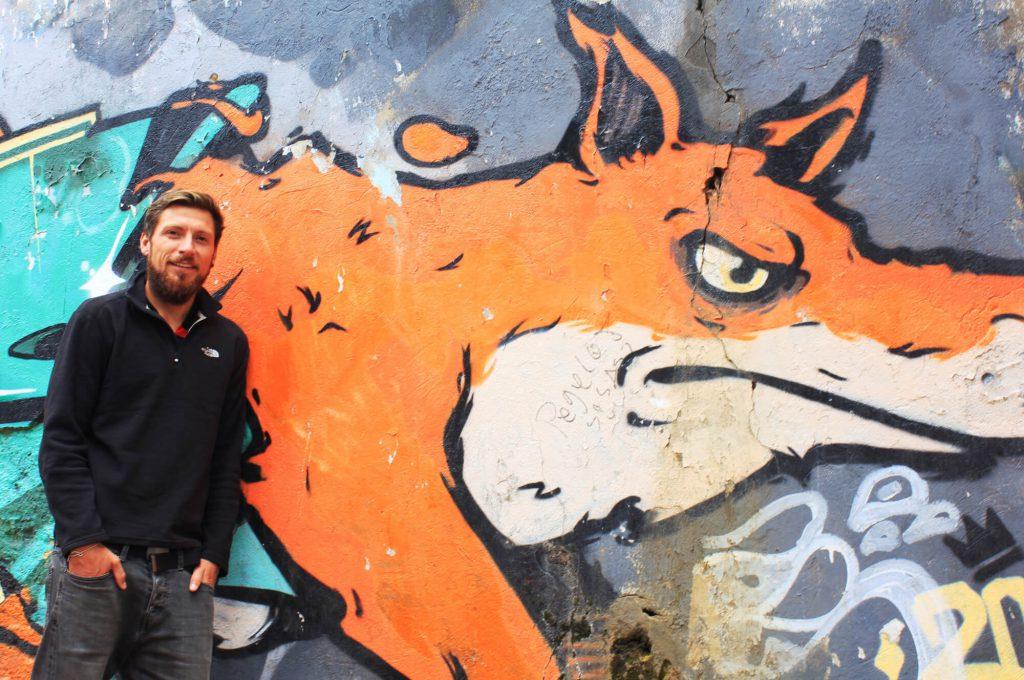 Street-Art in Bogotá | © Daniela und Christian, www.voneinerreise.de
