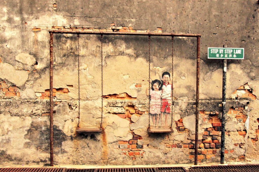 Street-Art George Town | © Kathleen und Stephan, www.travelcats.de