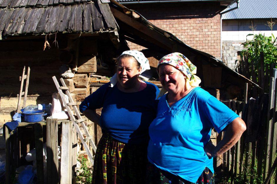 Rumänien, Siebenbürgen, Maramures, Dorfbewohnerin