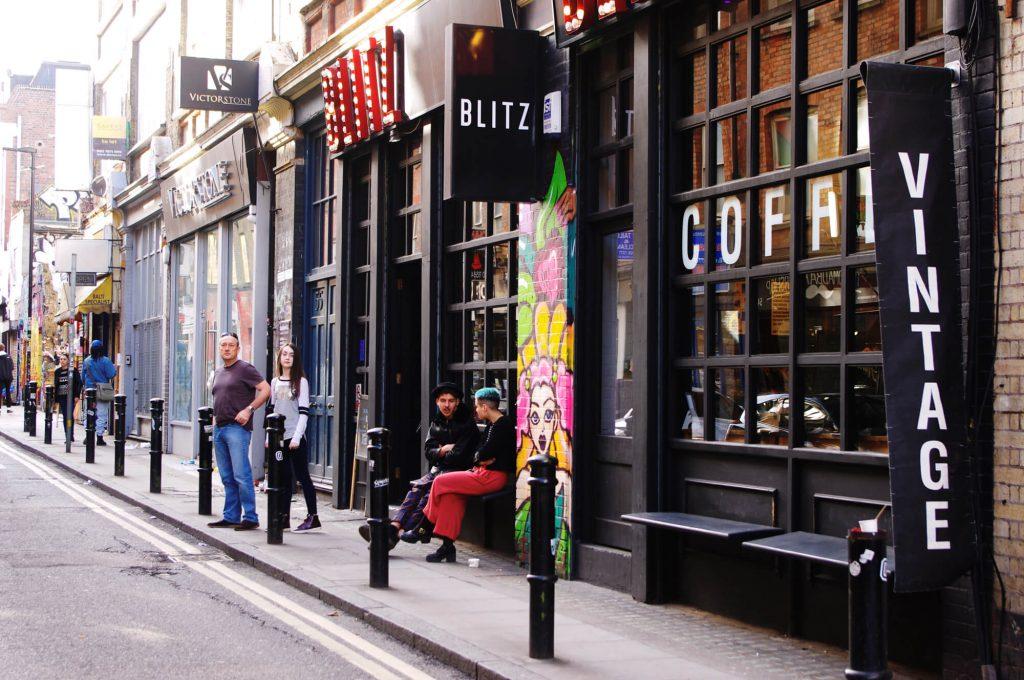 East End London - Vintage Shop Blitz