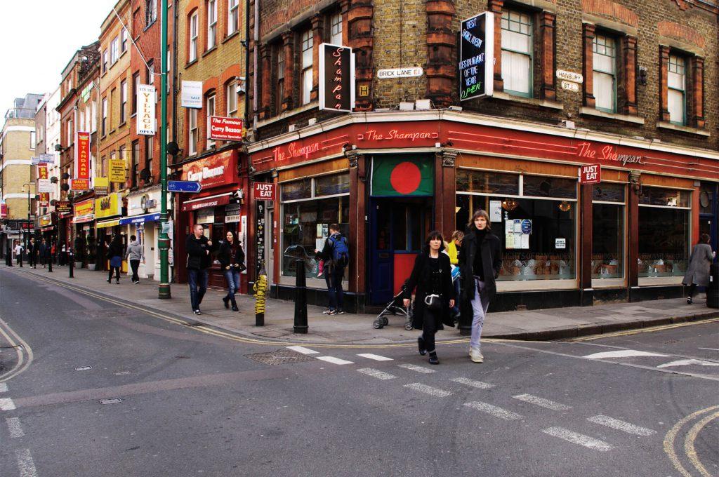 Brick Lane im East End London