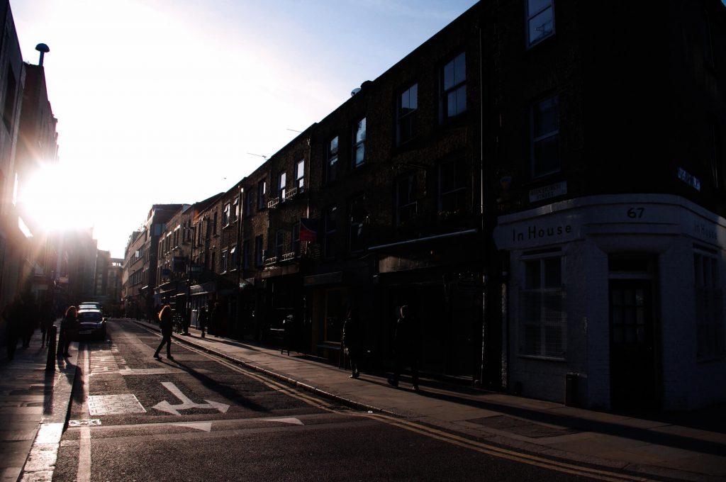 Redchurch Street East End London
