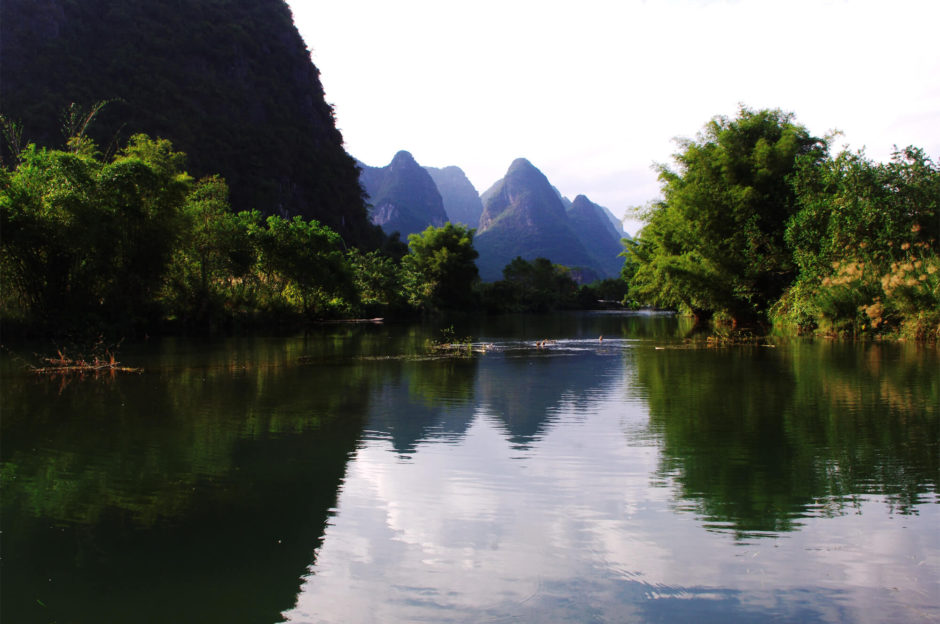 Yangshuo in China