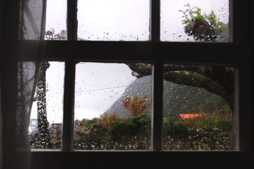 Azoren Insel Sao Jorge Regen