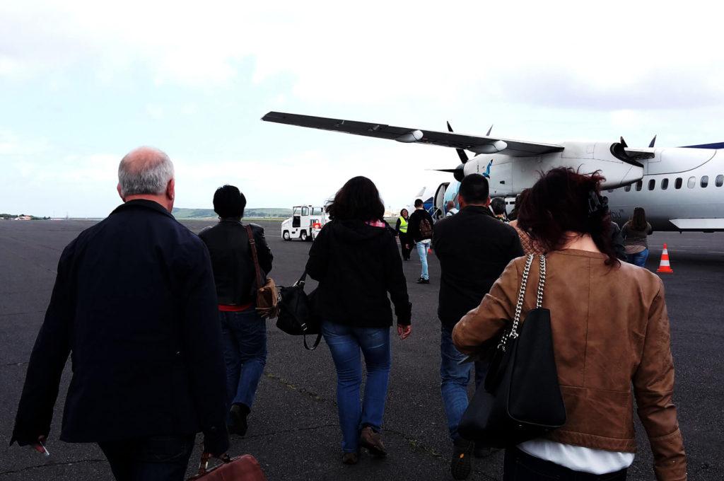 Azoren Insel Terciera Flughafen