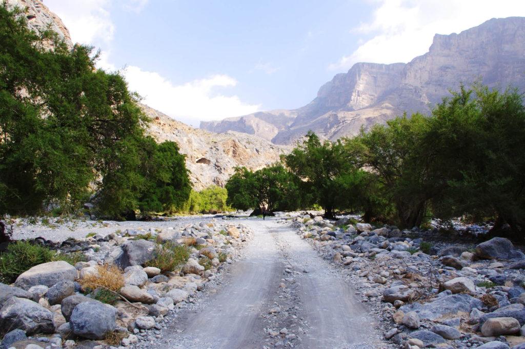 Reise in den Oman - Wadi Tanuf