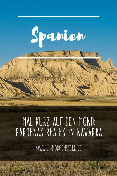Spanien - Halbwüste Bardenas Reales in Navarra