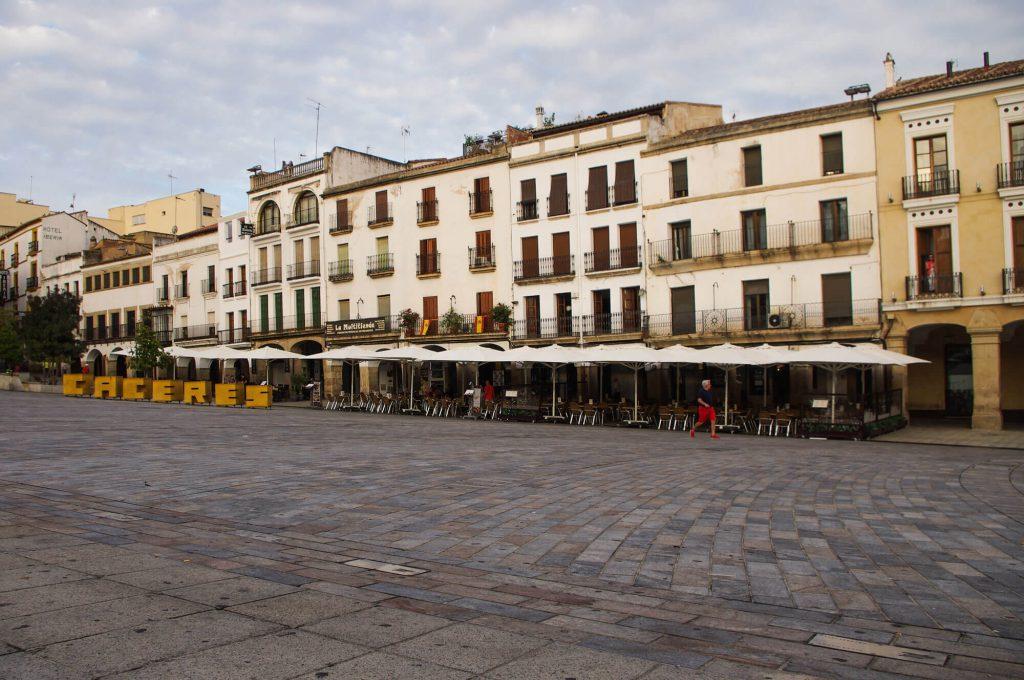 Roadtrip durch Spanien - Tagesausflug nach Caceres