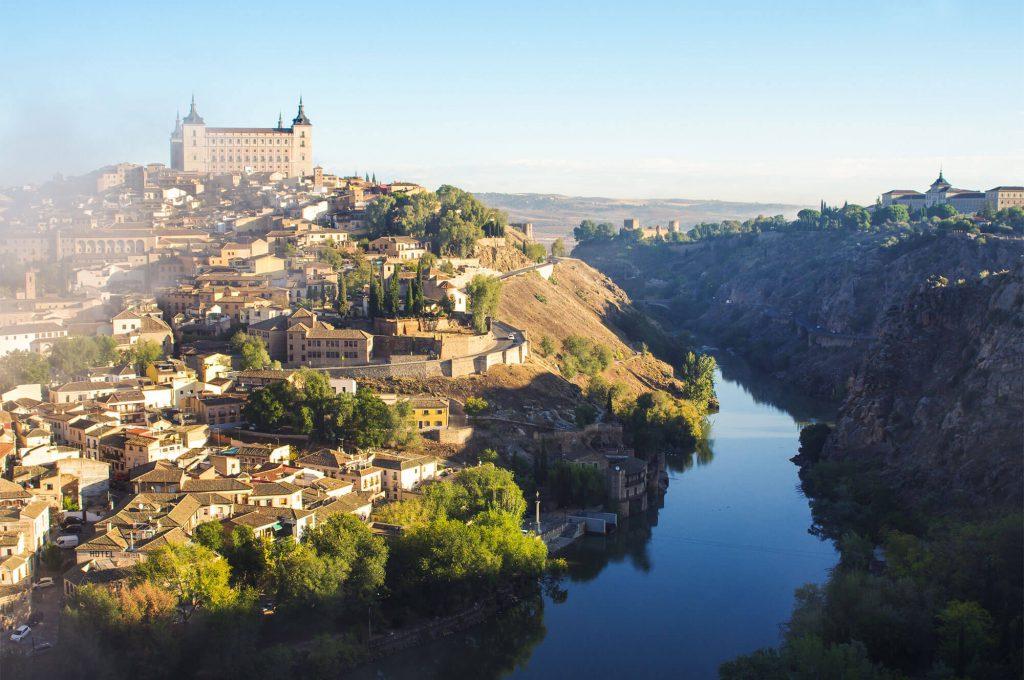 Roadtrip durch Spanien - Blick auf Toledo