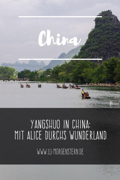 Yangshuo in China