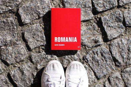 """Titelbild Roman """"Romania"""" von David Wagner"""