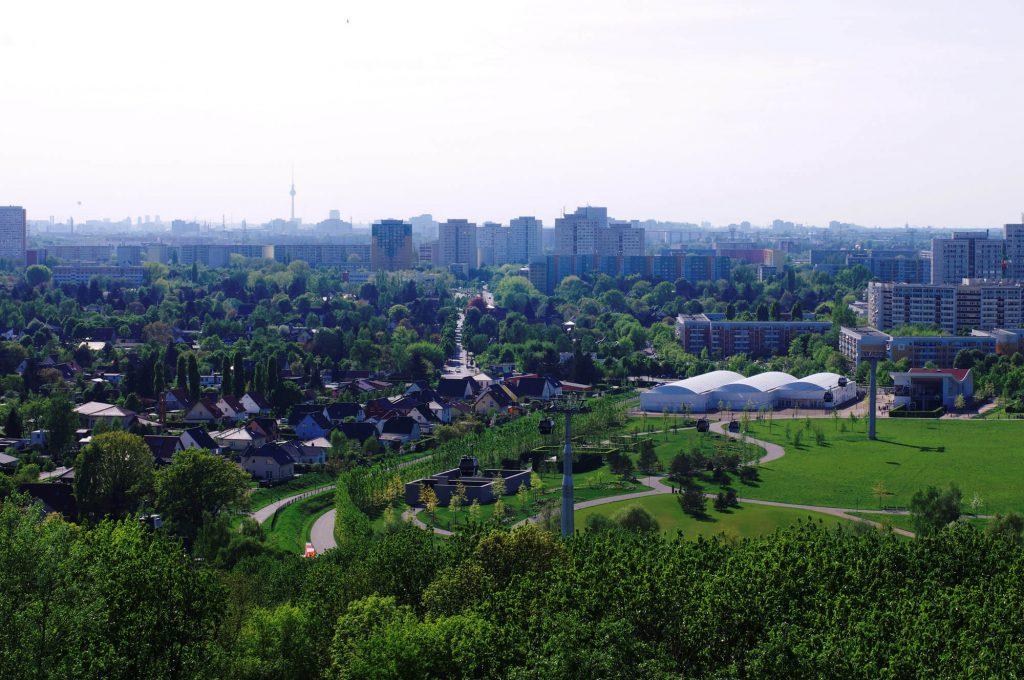 Gärten der Welt Berlin - Aussicht vom Wolkenhain