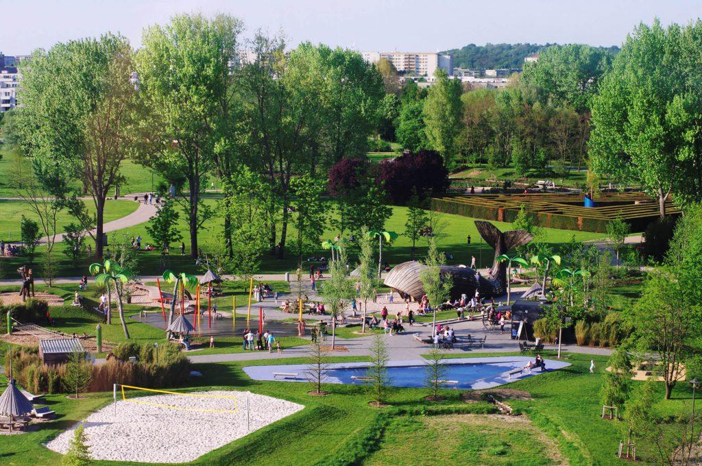 """Gärten der Welt Berlin - Wasserspielplatz """"Konrad in der Südsee"""""""
