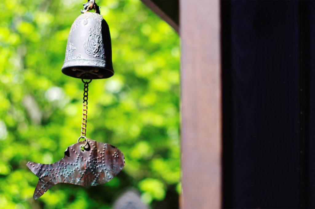 Gärten der Welt Berlin - Windspiel im Koreanischen Garten