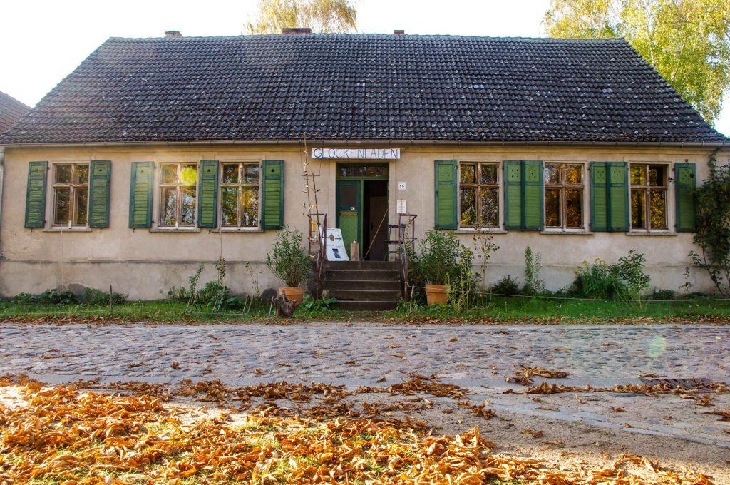 Glockenladen in Brodowin in Brandenburg