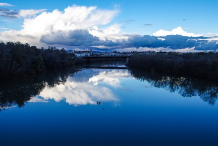 Andalusien - Cordoba - Blick auf den Fluss Guadalquivir