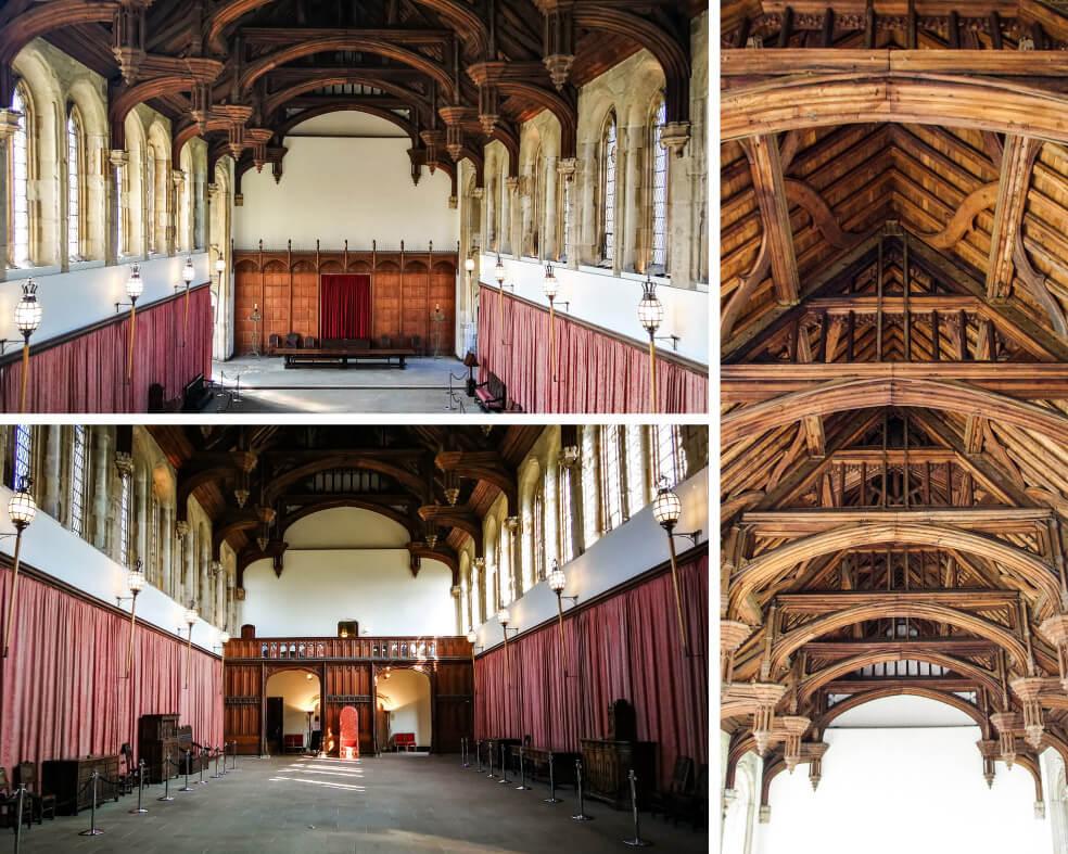 Eltham Palace in London: Great Hall und Hammerbalken-Gewölbe
