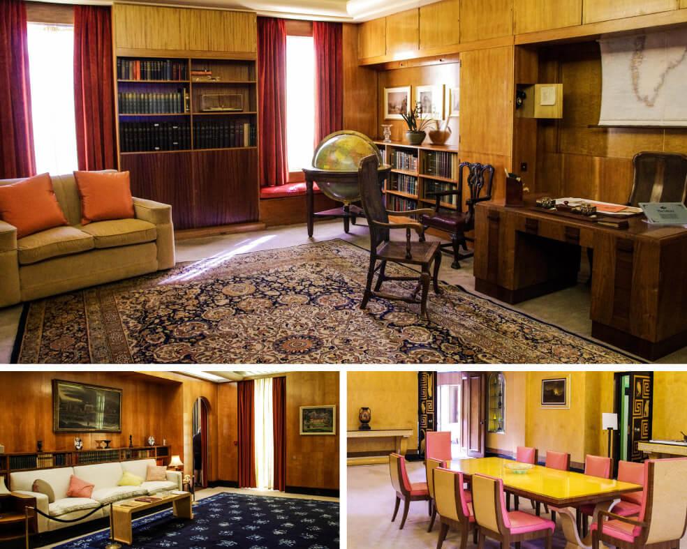 Wohnräume in Eltham Palace