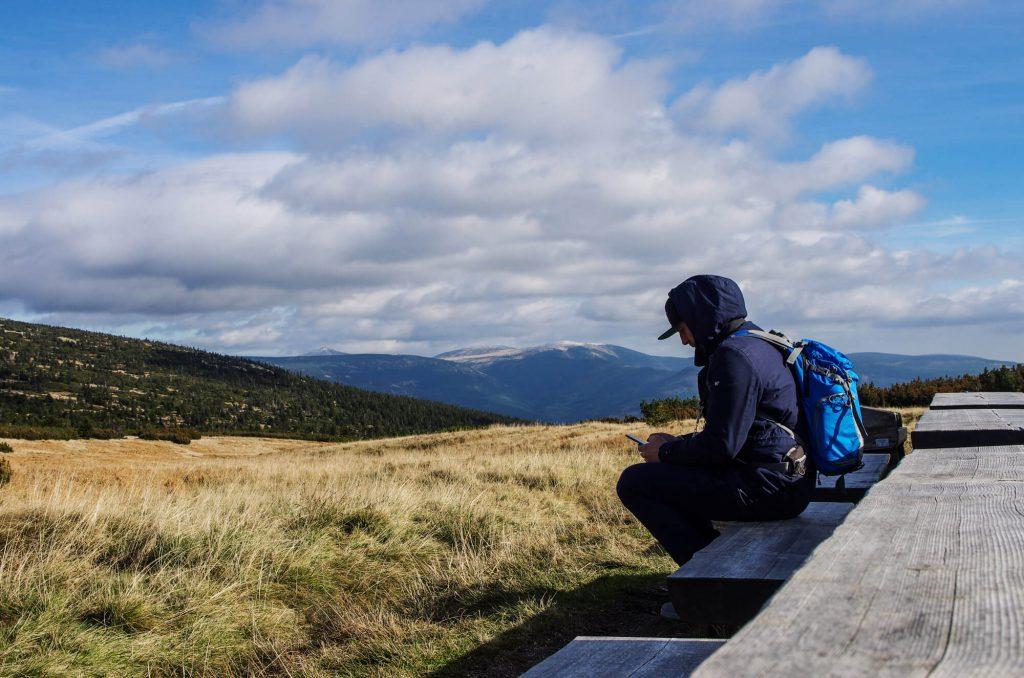 Riesengebirge: In der Nähe der Elbquelle