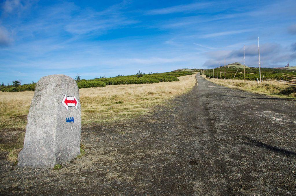 Wanderweg im Riesengebirge