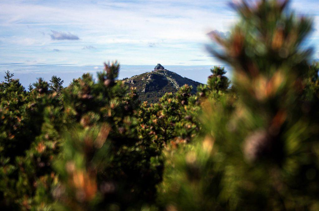 Riesengebirge: Blick auf die Reifträger Baude