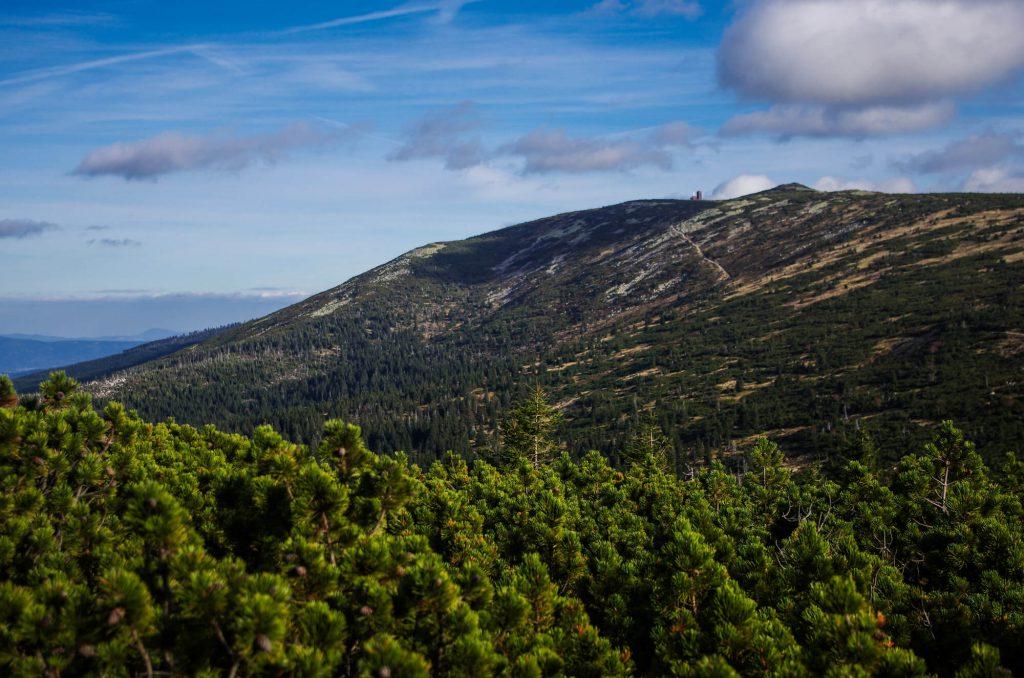 Riesengebirge: Blick auf die Schneegruben Baude