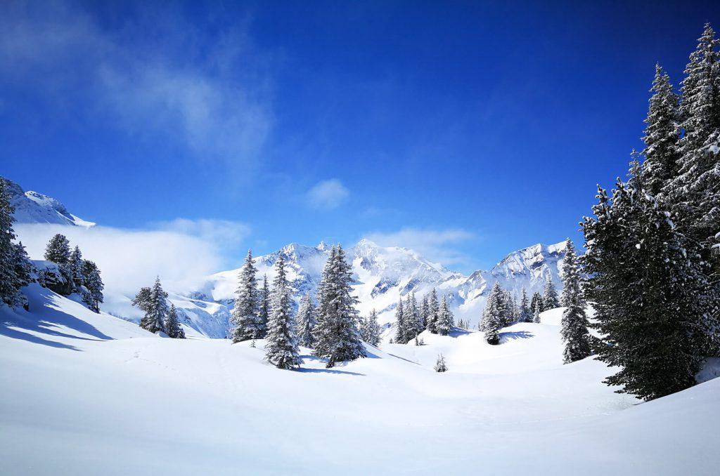 Winterlandschaft - Warth-Schröcken im Bregenzerwald