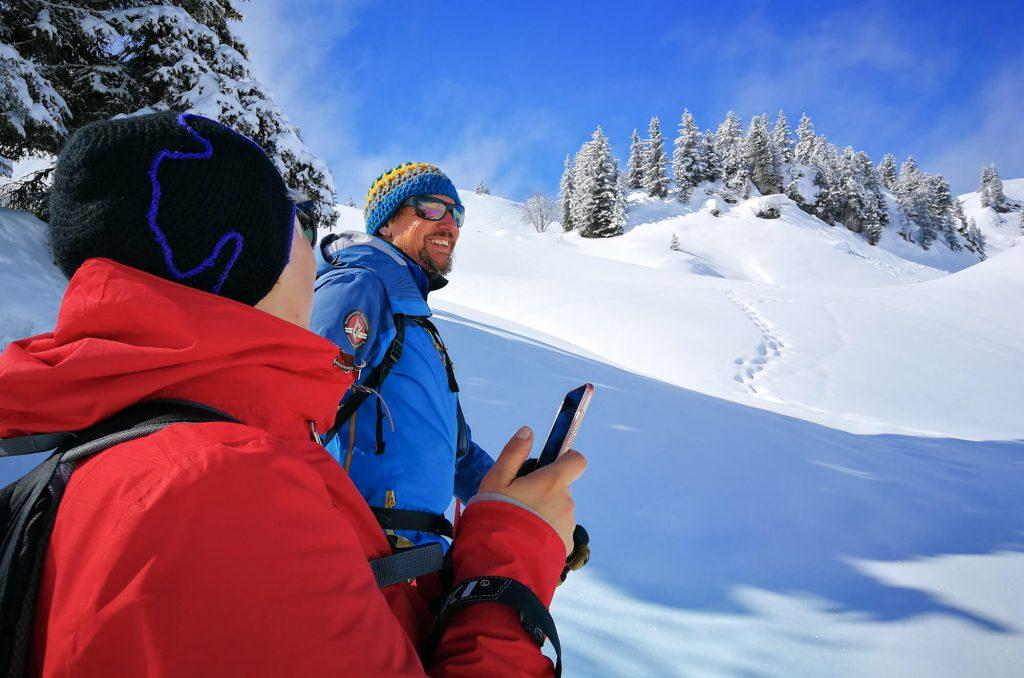 Schneeschuhwandern im Bregenzerwald