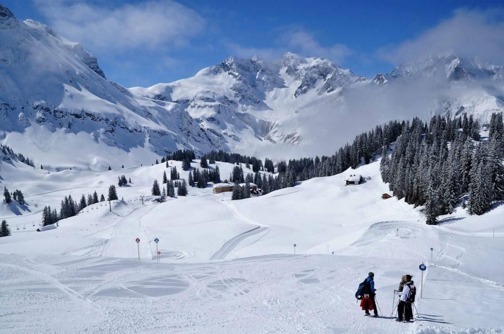 Schneeschuhwandern im Bregenzerwald - Körbersee