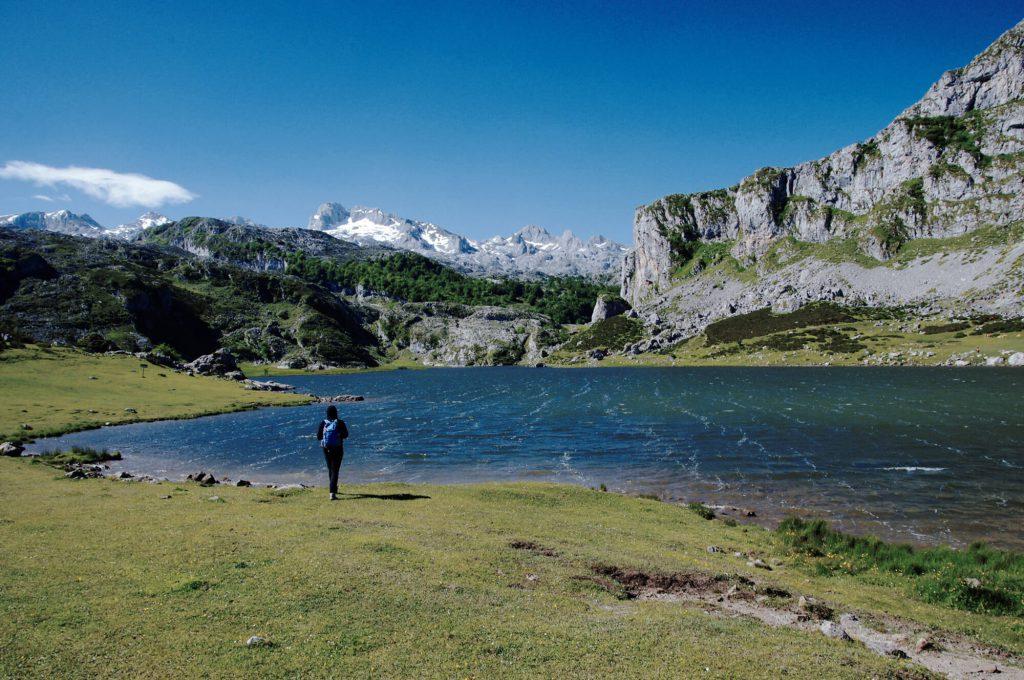 Tipps für Urlaub in Asturien: Lago Ercina in den Picos de Europa