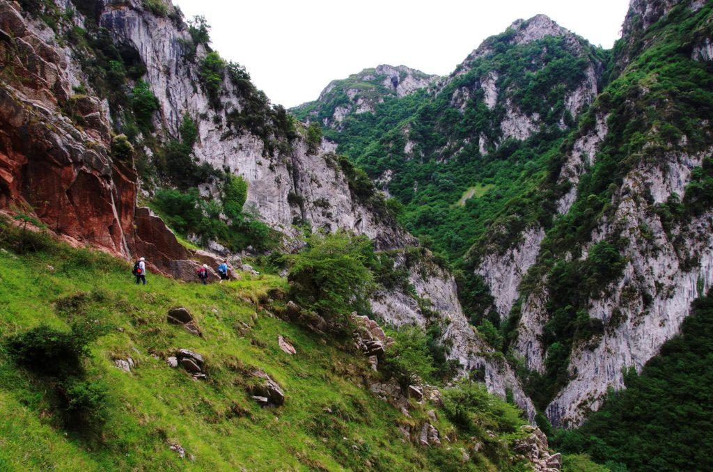 """Wanderung """"Ruta de Las Xanas"""" in Asturien"""