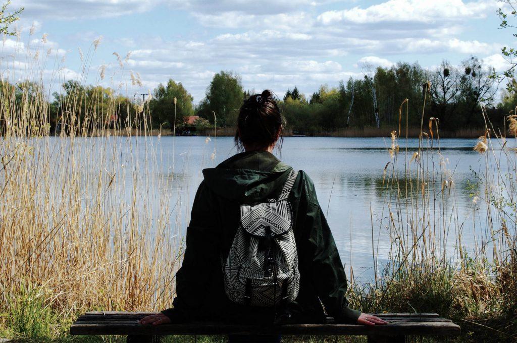 Tonstich bei einer Wanderung entlang der Havel bei Zehdenick