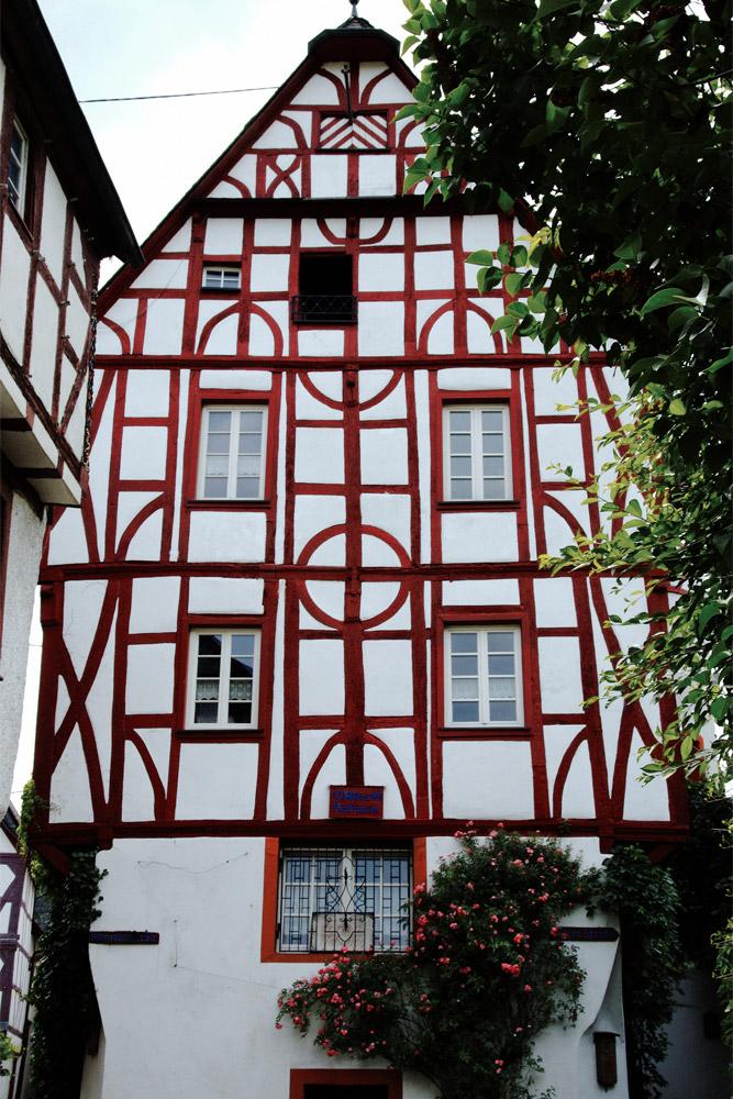 Fachwerkhaus altes Rathaus in Pünderich