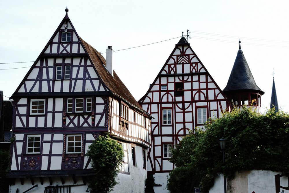 Urlaub an der Mosel Fachwerkhäuser in Pünderich
