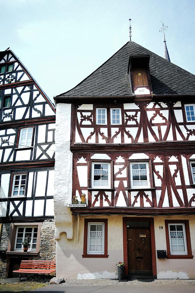 Fachwerkhäuser in Enkirch